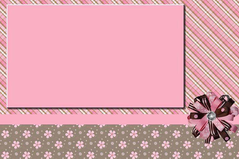 Marr 243 N Y Rosa Invitaciones Para Imprimir Gratis Ideas
