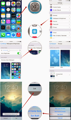 Cara Mengubah wallpaper untuk menyesuaikan iPhone atau iPad