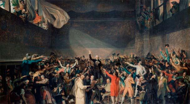 Juego de Pelota. ¿Revolución? Francesa