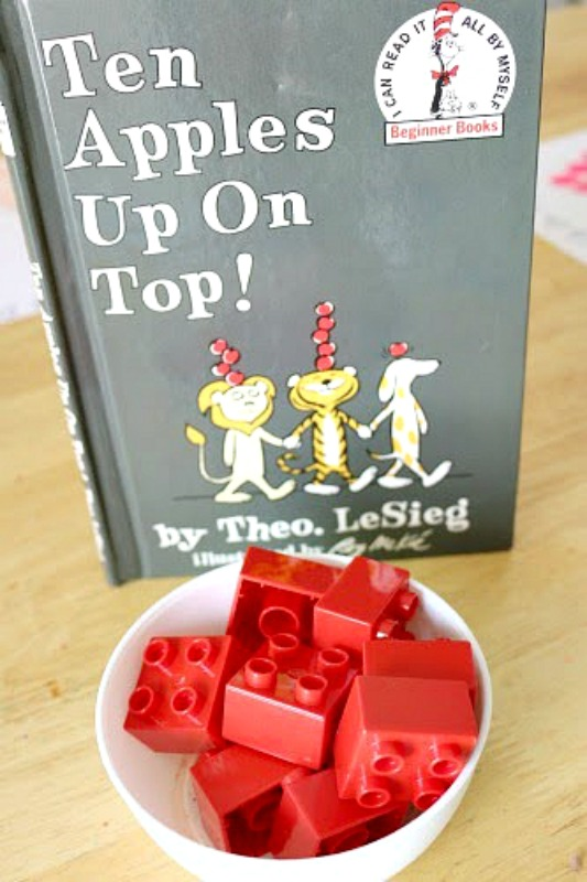 Ten Apples Up On Top -- counting apples