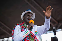 UHURU is the biggest coward we have in Kenya, it will be a mistake to vote for him and RUTO - RAILA to MERUs