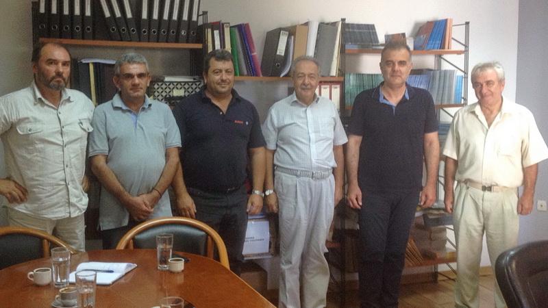 Επίσκεψη του Διοικητή της 4ης Υγειονομικής Περιφέρειας στη Σαμοθράκη