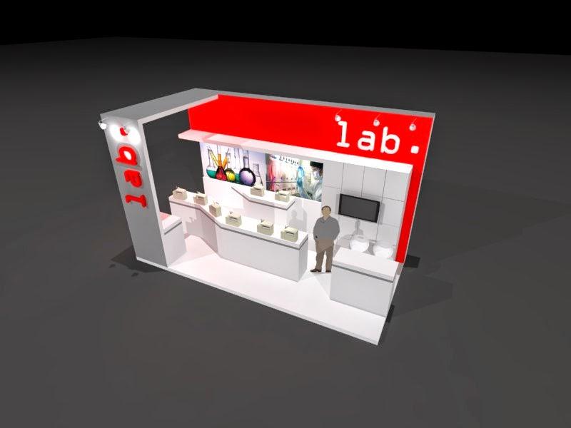 kontraktor pameran Desain Booth Pameran Minimalis