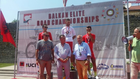 Albania the champion of Balkans in cycling, 3 first places won by Albanians