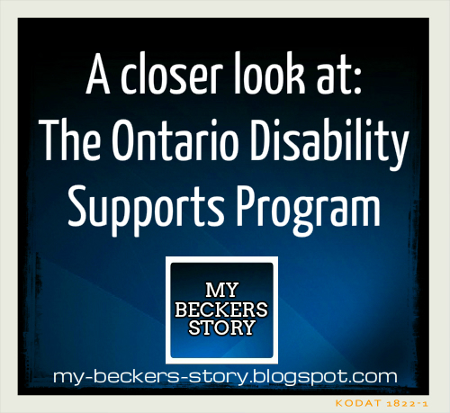 My beckers story a look at the ontario disability supports program a look at the ontario disability supports program solutioingenieria Images