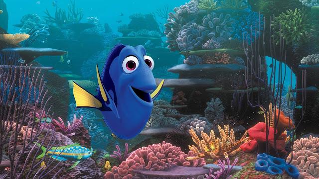 """Dory, peixinho do filme """"Procurando Dory"""""""