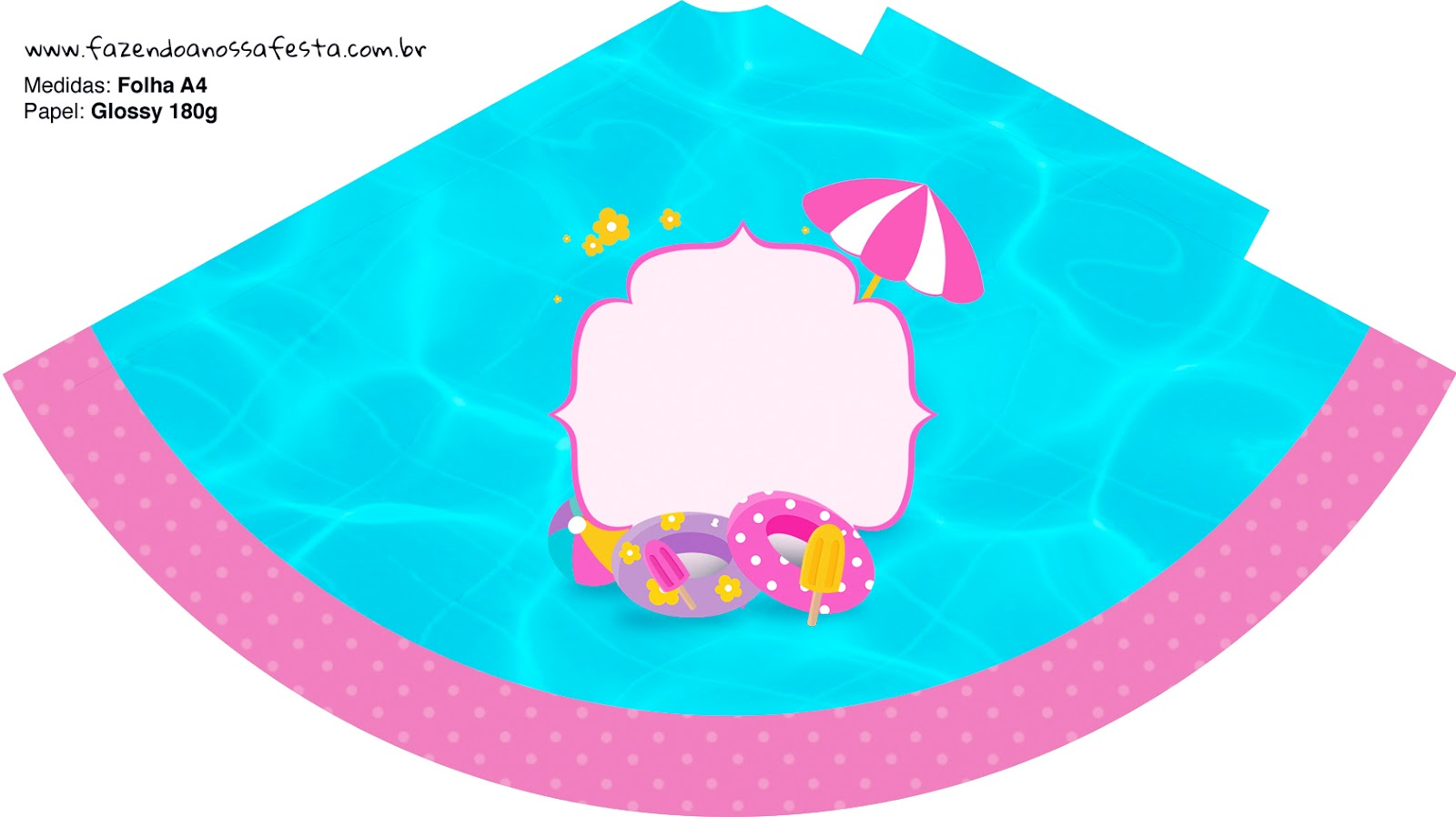 photo relating to Pool Party Printable known as Blondie Lady Pool Occasion: Free of charge Bash Printables. - Oh My