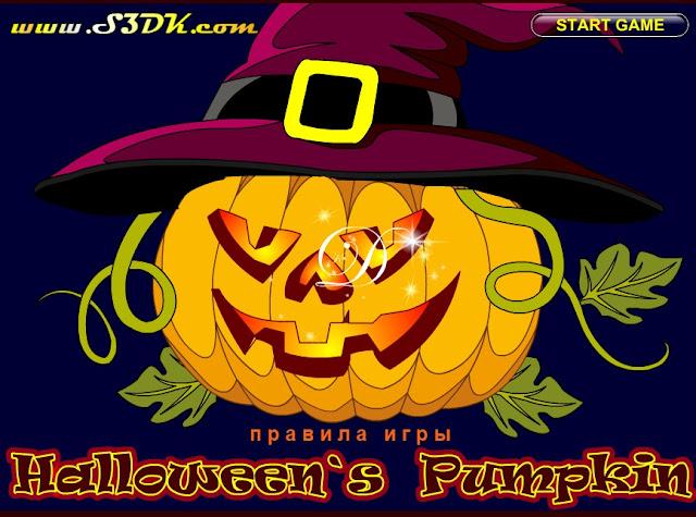 Halloween`s Pumpkin