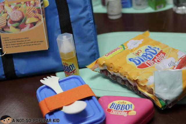 Bibbo Cheesedog Kiddie Baon Set