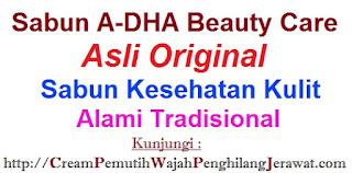 Agen Jual Sabun A-DHA Beauty Care Asli Original WARNA HIJAU