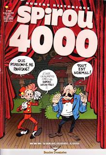 Spirou 4000, numéro historique