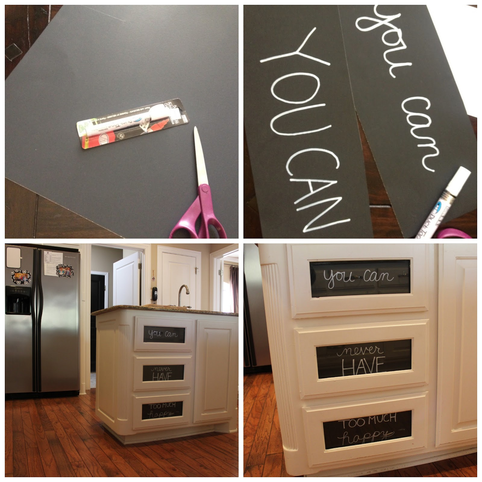 Chalk Paint Used On Kitchen Cabinets: Crafty Texas Girls: Crafty How-To: Cabinet Door