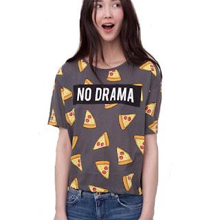 camiseta no drama