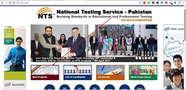 NTS Website
