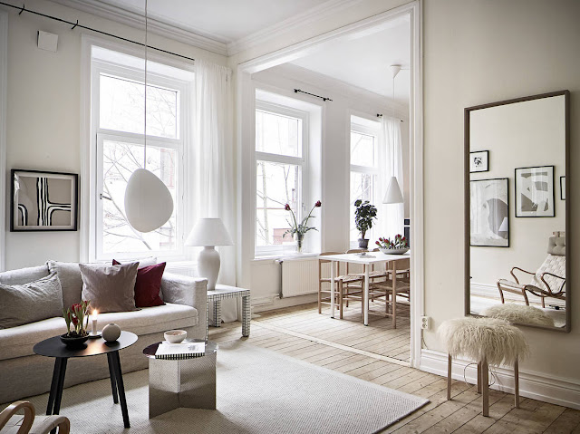 Дизайн-проекты. Элегантный дизайн квартиры в Гетеборге