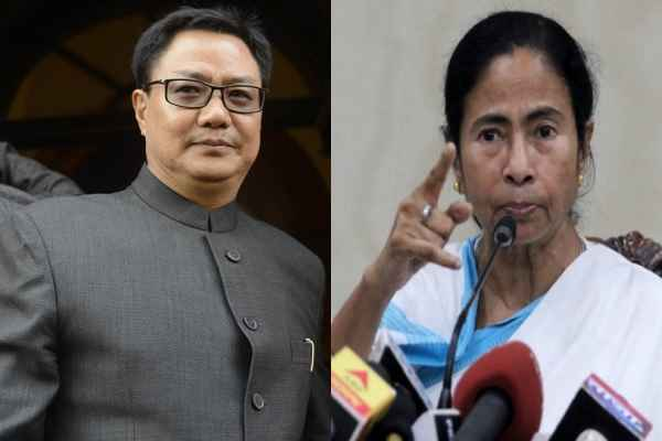 kiren-rijiju-said-mamata-banerjee-incapable-in-law-and-order