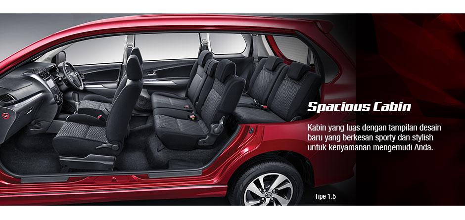 Fitur Grand New Avanza 2016 Type E Harga Spesifikasi Kredit Veloz Surabaya Interior
