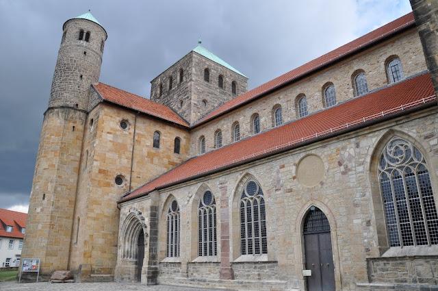 Romański kościół św. Michała w Hildesheim