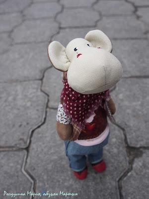 игрушечная обезьянка на заказ