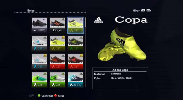 Boot Pack 2017-2018 PES 2013