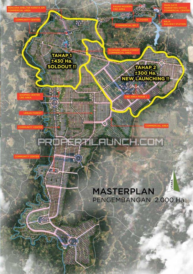 Master Plan Citra Maja Raya