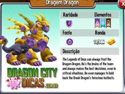Dragão Dragem - Informações