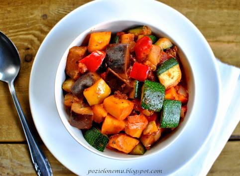 Jesienna potrawka z dynią à la ratatouille