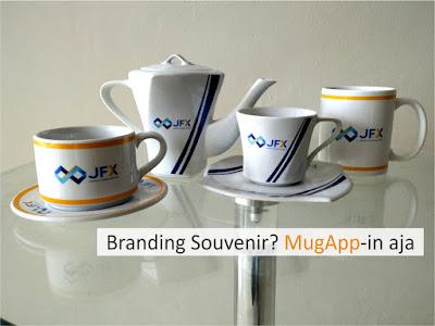 Juara nya souvenir perusahaan! Mug-App? Bisa branding? Bisa custom mug? Apalagi ya?