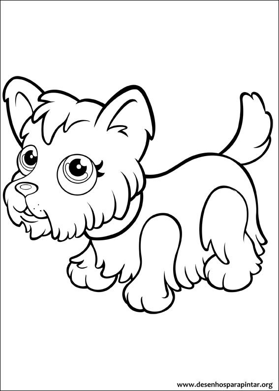enjoy these cute pet parade free coloring pages