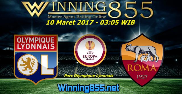 Prediksi Skor Lyon vs Roma 10 Maret 2017