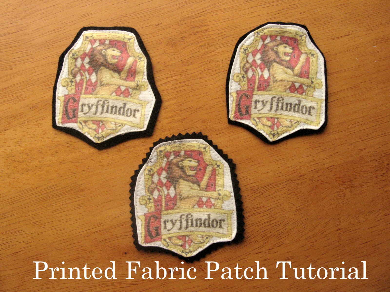 Pickup Some Creativity Printed Fabric Patch Tutorial