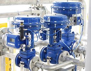 globe valves control valves pneumatic actuator