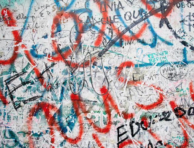 Graffiti tapetti piirrellä