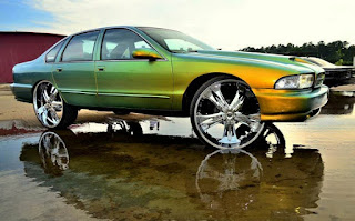 Big Rims on Cars 04
