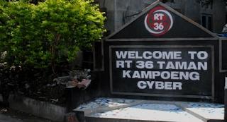 Kampoeng Cyber, kampung yang semakin membuat Daerah Istimewa Yogyakarta semakin istimewa