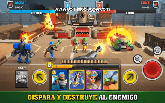 Mighty Battles para Android