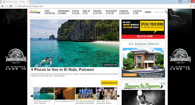 PinoyExchange Featured Our Palawan Post