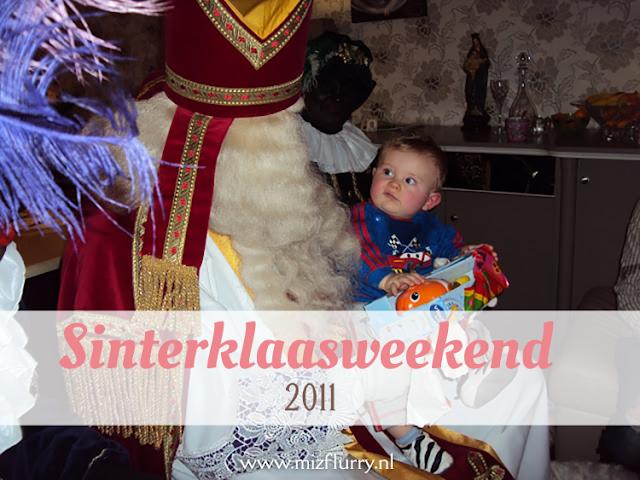 Verslag van ons Sinterklaasweekend in 2011.