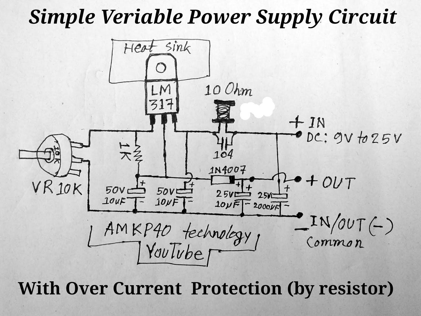 simple power circuit diagram [ 1600 x 1200 Pixel ]