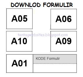 Download Formulir A05, A06, A01, A09, A10