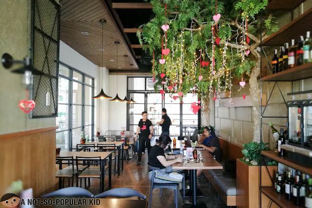 Interior of Mudpie Heaven in Circuit Makati