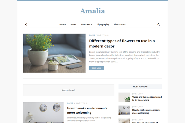 How To Install and Setup Amalia Blogger Template