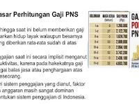 Menpan-RB: Perubahan Pola Gaji PNS Terbaru. Gaji Pokok Lebih Besar dari Tunjangan,,,