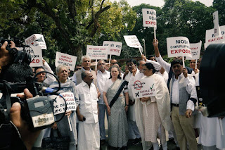 congress-protest-against-rafel