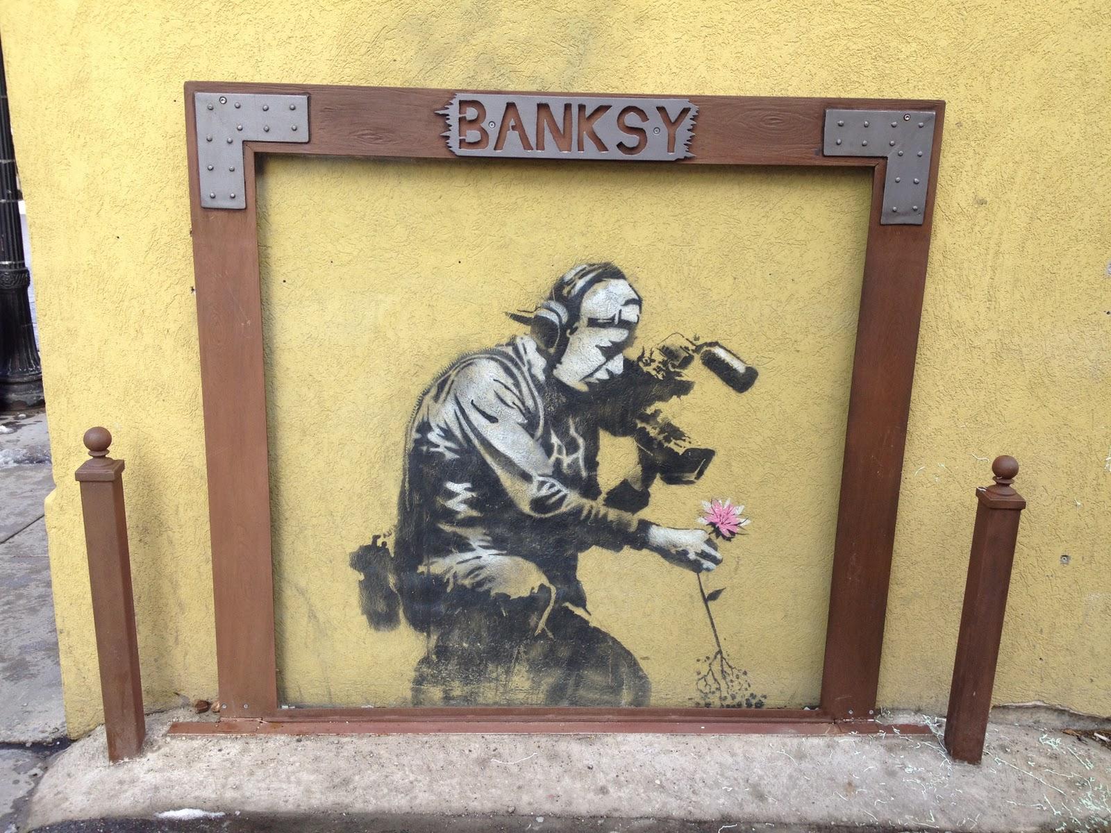 Banksy Park City Sundance Our Kitchen Sink