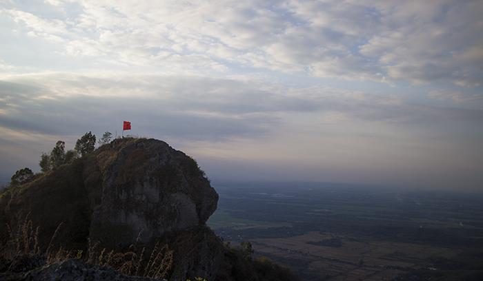 Puncak Trianggulasi Gunung Gajah Mungkur, Sukoharjo