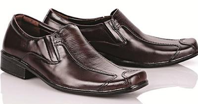 Sepatu Asli Bucheri Warna Hitam Tahan Lama