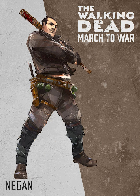 The Walking Dead: March to War - Negan
