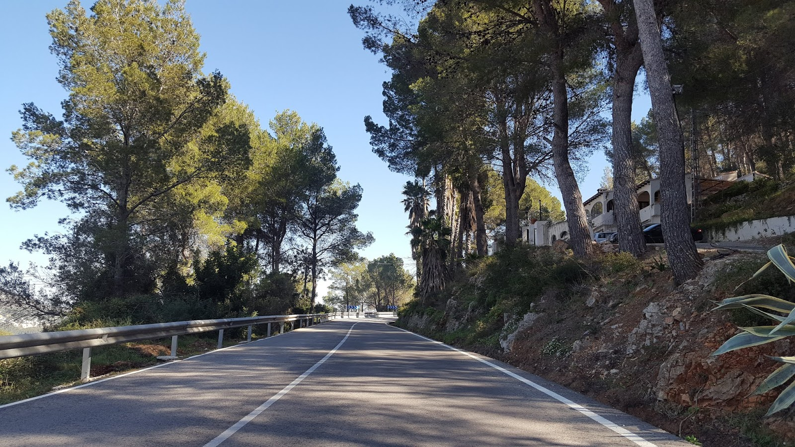 Initial ramps on north side of Coll de Rates