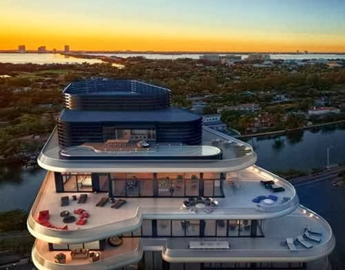 Miami Beachside Penthouse with Layers of Luxury picture